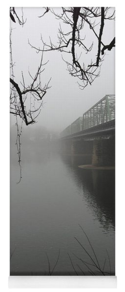 Foggy Morning In Paradise - The Bridge Yoga Mat