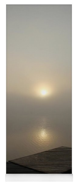 Foggy Reflections Yoga Mat