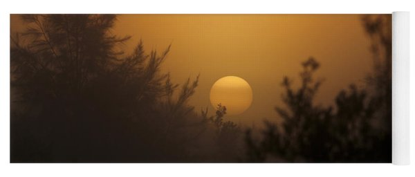 Foggy Sunrise Yoga Mat