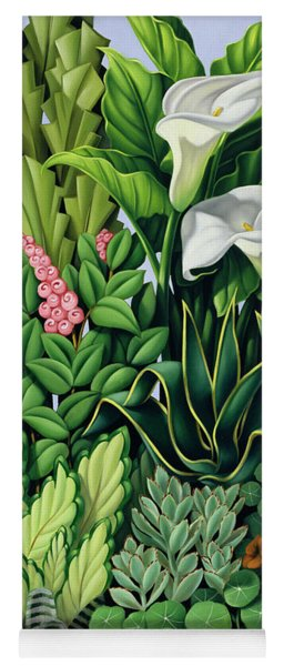 Foliage Yoga Mat