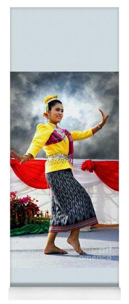 Folk Dancing Yoga Mat