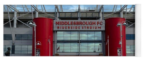 Football Stadium - Middlesbrough Yoga Mat