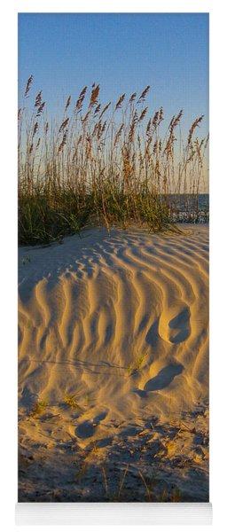 Footprints Yoga Mat