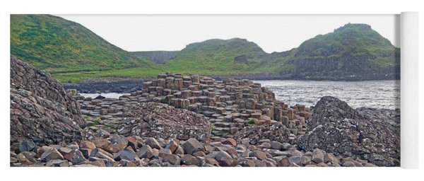 For The Cause -- Giant's Causeway -- Ireland Yoga Mat