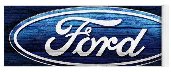 Ford Barn Door Yoga Mat