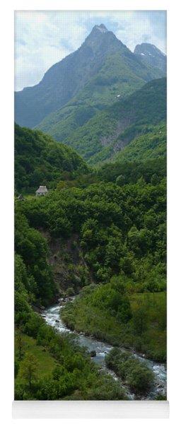 Moraca River And Mountains Yoga Mat