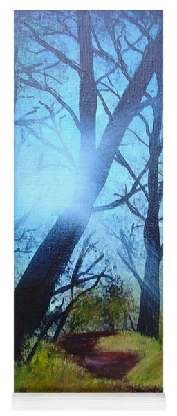 Forest Sunlight Yoga Mat