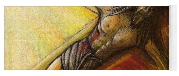 Psalm 22 Forsaken Yoga Mat