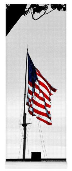 Fort Mchenry Flag Color Splash Yoga Mat