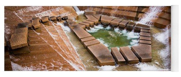 Fort Worth Water Gardens Yoga Mat