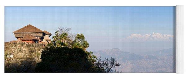 Fortress On A Hill, Gorkha Durbar Yoga Mat