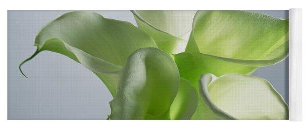 Four Arum Lilies Yoga Mat