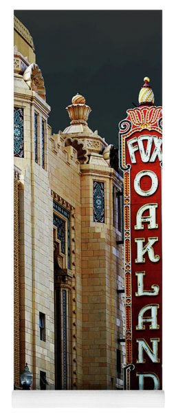Fox Theater . Oakland California Yoga Mat