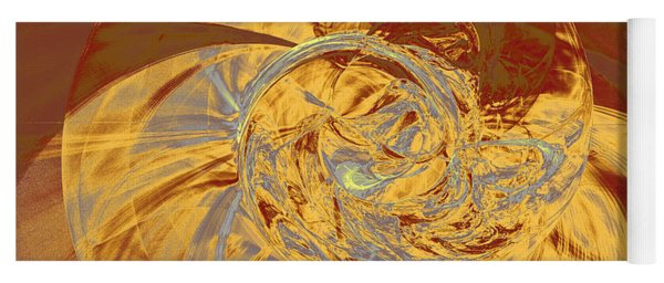 Fractal Ammonite Yoga Mat