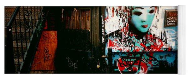 Fragments - Street Art - New York City Yoga Mat