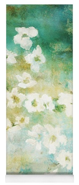Fragrant Waters - Abstract Art Yoga Mat