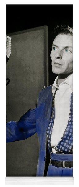 Frank Sinatra - Old Blue Eyes Yoga Mat