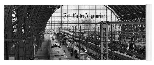 Frankfurt Bahnhof - Train Station Yoga Mat