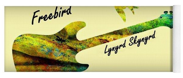 Freebird Lynyrd Skynyrd Ronnie Van Zant Yoga Mat