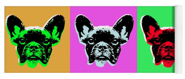 French Bulldog Yoga Mat