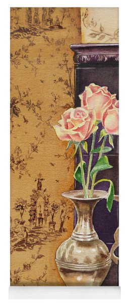 French Roses Yoga Mat