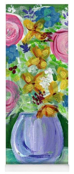 Fresh Flowers- Painting Yoga Mat