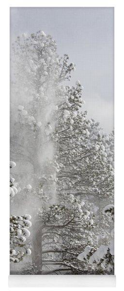 Fresh Snow Yoga Mat