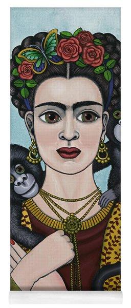 Frida In The Sky Yoga Mat