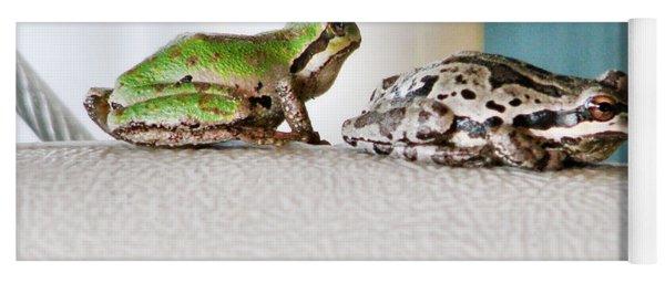 Frog Flatulence - A Case Study Yoga Mat