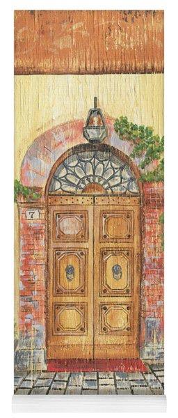 Front Door 2 Yoga Mat