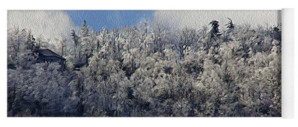 Frost Line Yoga Mat
