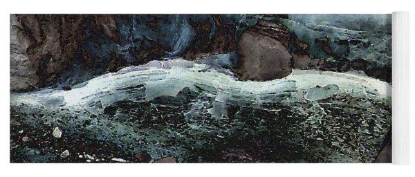 Frozen Cave Yoga Mat