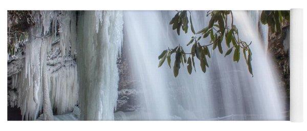 Frozen Dry Falls Yoga Mat