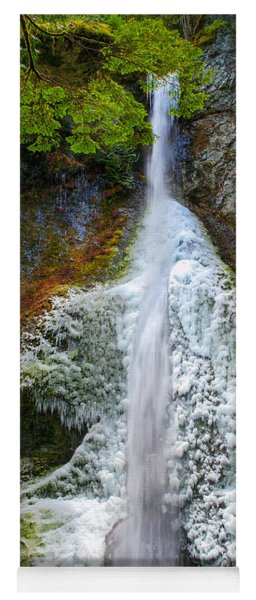 Frozen Marymere Falls Yoga Mat