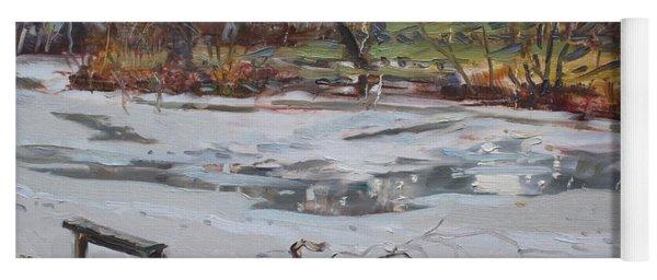 Frozen Pond Yoga Mat