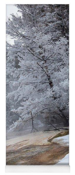 Frozen Tree Yoga Mat