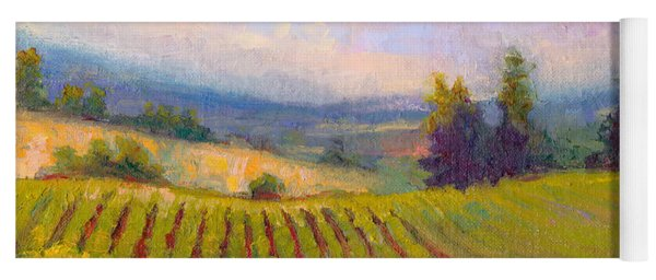 Fruit Of The Vine - Sokol Blosser Winery Yoga Mat