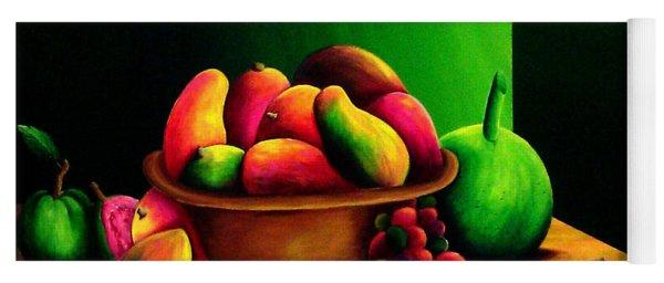 Fruits Still Life Yoga Mat
