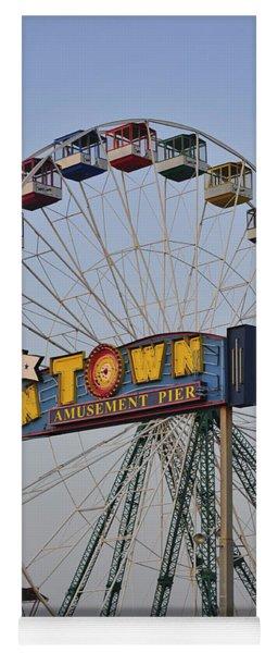 Funtown Ferris Wheel Yoga Mat