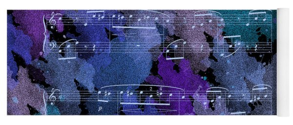 Fur Elise Music Digital Painting Yoga Mat