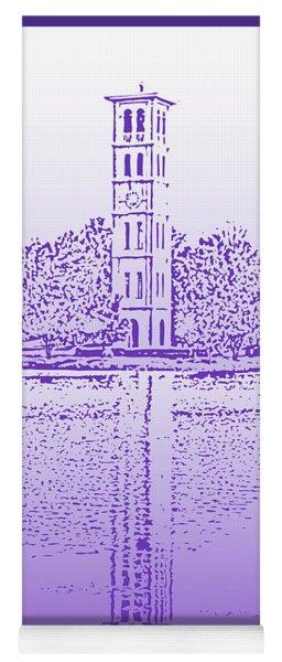 Furman Bell Tower Yoga Mat