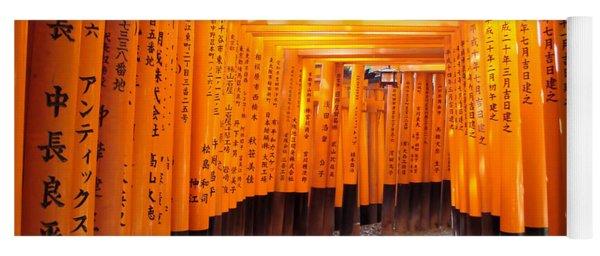 Fushimi Inari Yoga Mat