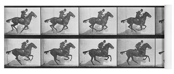 Galloping Horse Yoga Mat