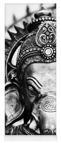 Ganesha Monochrome Yoga Mat
