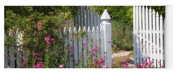 Garden Gate Yoga Mat