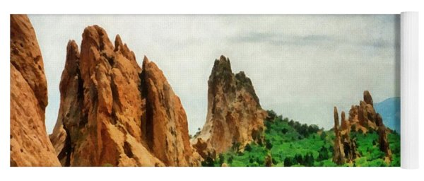 Garden Of The Gods Yoga Mat