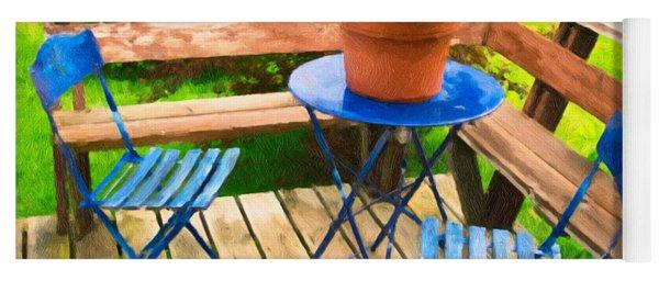 Garden Party Yoga Mat