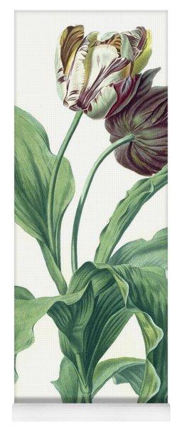 Garden Tulip Yoga Mat