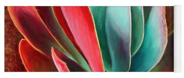 Yoga Mat featuring the painting Garnet Jewel by Sandi Whetzel
