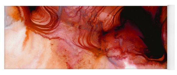 Garnet Sea - Abstract Art By Sharon Cummings Yoga Mat